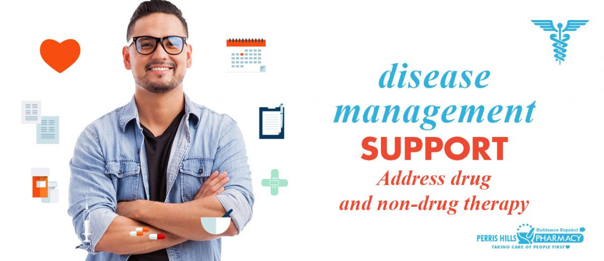 Disease Management Support at Perris Hills Pharmacy