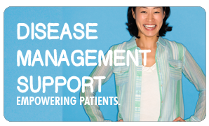 Disease Management Support Empowering Patients